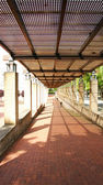 Zahrady atlanta barcelona — Stock fotografie