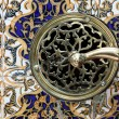 Stock Photo: Antique tiles and locker