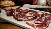 Spanish ham — Stock Photo