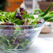 Salad on bowl — Stock Photo