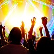 concerto rock — Foto Stock