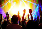 ロック コンサート — ストック写真