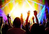 Koncert rockowy — Zdjęcie stockowe