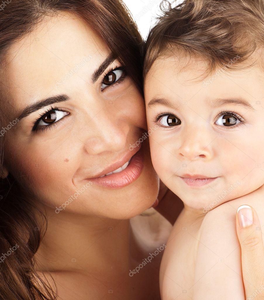 крупные мамы фото