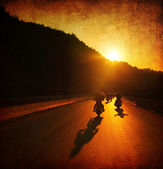 Motorcycle ride — Stockfoto