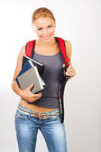 Happy student — Stock Photo