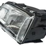Automobile headlight — Stock Photo