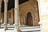 Detalles de la basílica de san vicente en ávila, españa — Foto de Stock