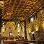"Wood interior church in ""Buitrago de Lozoya"" spain — Stock Photo #11495874"