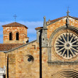 Church of St. Peter (San Pedro) in the city de Avila, Spain — Stock Photo