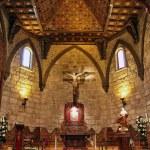 "Wood interior church in ""Buitrago de Lozoya"" spain — Stock Photo #11725409"