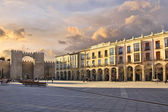 "Famous square ""Plaza de Santa Teresa"" in Avila, Spain — Stock Photo"