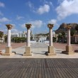 Place in the marina of Alicante Spain - Stock Photo