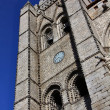Stock Photo: Cathedral city Avila, Spain