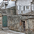 Old houses in a village — Stock Photo