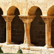 Details of the columns of the famous Monastery of Silos in Spain — Stock Photo #12005523