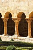 Datos de las columnas del famoso monasterio de silos en españa — Foto de Stock