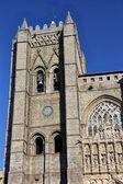 Katedrála města avila, španělsko — Stock fotografie