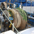 Stock Photo: Engines to bring nets on fishing vessels