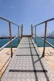 Perspectiva de escala a las naves de la Junta — Foto de Stock