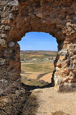 Ruins of the castle of San Esteban de Gormaz, Spain — Stock Photo