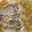 Stock Photo: Monument in the gardens of Aranjuez Royal Palace