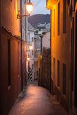 Small town on the coast of Galicia (Viveiro, Spain) — Stock Photo