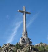Large cross Valley of the Fallen (Valle de los Caidos) — Foto Stock