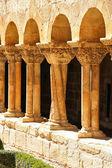 Silolar i̇spanya'nın ünlü manastır sütunların ayrıntılar — Stok fotoğraf