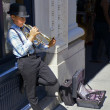 Stock Photo: Young Street Musician