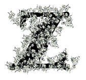 Letter Z. — Stock Vector