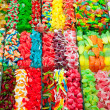 Candy sweets jelly in colorful display - Stock Photo
