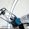 Astronomic observatory telescope in a dome — Stock Photo