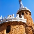 Royalty-Free Stock Photo: Barcelona Park Guell Gingerbread House of Gaudi