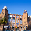 Royalty-Free Stock Photo: Barcelona bullring La Monumental byzantine and mudejar