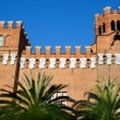 Barcelona Ciudadela Three Dragon Castle - Stock Photo