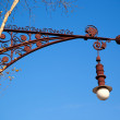 Stock Photo: BarcelonPaseo de Gracistreetlight Falques