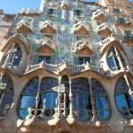 Barcelona Casa Batllo facade of Gaudi — Stock Photo