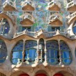 Barcelona Casa Batllo facade of Gaudi — Stock Photo