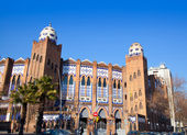 Barcelona bullring La Monumental byzantine and mudejar — Stock Photo