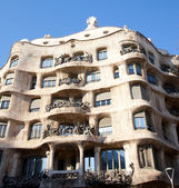 Barcelona La Pedrera by Gaudi architect — Stock Photo