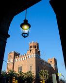 Barcelona ciudadela üç ejder kalesi — Stok fotoğraf