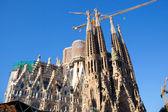 Barcelona Sagrada Familia cathedral by Gaudi — Stock Photo