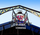 Barcelona Las Ramblas La Boqueria Market — Stock Photo