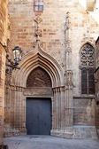 Cathedral of Barcelona Seu Seo — Stock Photo