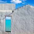 Balearic islands idyllic beach from house door — Stock Photo #11350570