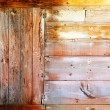 Aged grunge beige wood in mediterranebalearics — Stock Photo #11350588