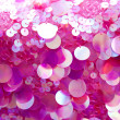 Pink sequins pattern texture background — Stock Photo