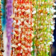 Stock Photo: Sesnail and shell handcrafted colorful necklazes
