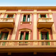 Eivissa ibiza town buildings in Vila — Stock Photo